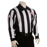 "South Carolina (SCFOA) 2 1/4"" Stripe Foul Weather Football Referee Shirt"