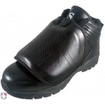 Smitty All-Black Mid-Cut Umpire Plate Shoes