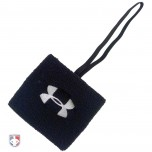 "Under Armour 3"" Black Sweatband Referee Down Indicator"