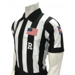 "Smitty CFO College 2"" Dye Sublimated Short Sleeve Football Referee Shirt"