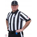"Kentucky (KHSAA) 2"" Stripe Body Flex Short Sleeve Football Referee Shirt"