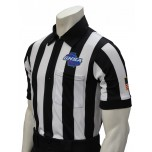 "Georgia (GHSA) 2"" Stripe Short Sleeve Referee Shirt"