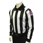 "Missouri (MSHSAA) 2 1/4"" Stripe Foul Weather Football Referee Shirt"