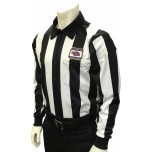 "Nebraska (NSAA) 2 1/4"" Stripe Foul Weather Football Referee Shirt"