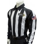 "Louisiana (LHSOA) 2 1/4"" Stripe Foul Weather Football Referee Shirt"