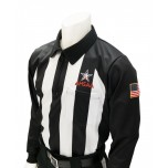"Alabama (AHSAA) 2 1/4"" Stripe Foul Weather Football Referee Shirt"