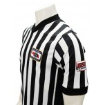 "Nebraska (NSAA-NHSOA) Men's 1"" Side Panel V-Neck Referee Shirt"