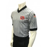 Iowa (IHSAA) Grey V-Neck Short Sleeve Referee Shirt