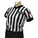 "Louisiana (LHSOA) 1"" Stripe Body Flex Women's V-Neck Referee Shirt"