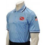 Iowa (IHSAA) Umpire Shirt - Powder Blue