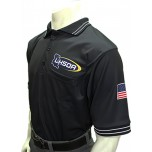 Louisiana (LHSOA) Short Sleeve Umpire Shirt - Black