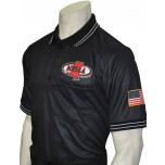 Mississippi (MHSAA) Short Sleeve Umpire Shirt - Black