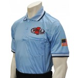 Mississippi (MHSAA) Short Sleeve Umpire Shirt - Powder Blue