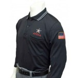Alabama (AHSAA) Long Sleeve Umpire Shirt - Black
