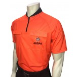 Alabama (AHSAA) Short Sleeve Soccer Referee Shirt - Fluorescent Orange