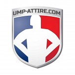 Ump-Attire.com Shield Logo Sticker