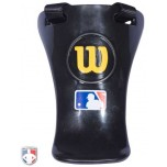 "Wilson MLB Gold 6"" Umpire Throat Guard"