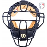 Wilson MLB New View Chrome Moliben Umpire Mask with Two-Tone