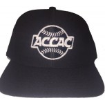 ACCAC Wool Blend Fitted Base Umpire Cap - 6 Stitch