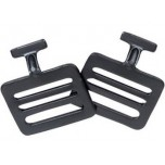 Metal Chest Protector Replacement T-Hooks - Pair