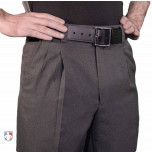 Smitty Charcoal Grey Combo Umpire Pants with Expander Waistband