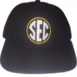 SEC Wool Blend Fitted Combo Plate / Base Umpire Cap - 4 Stitch