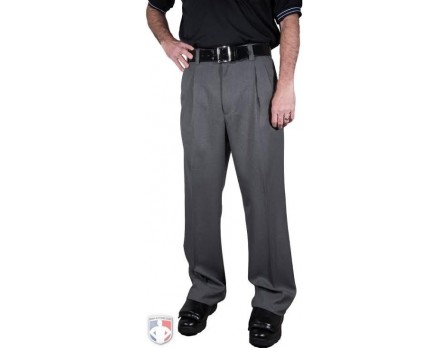 S375-CC Smitty Charcoal Grey Combo Umpire Pants with Expander Waistband