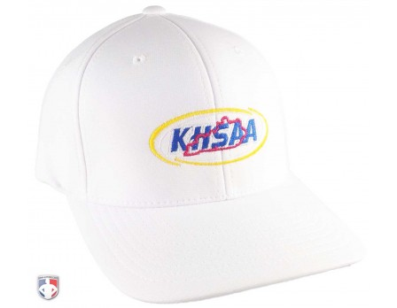 KHSAA Embroidered Richardson Pulse Performance FlexFit White Referee Cap