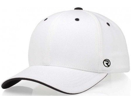 489-Richardson Alternative Style White Officials Cap