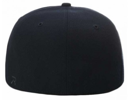 acb81339e7655 530 Richardson Surge Fitted Combo Plate   Base Umpire Cap Back View