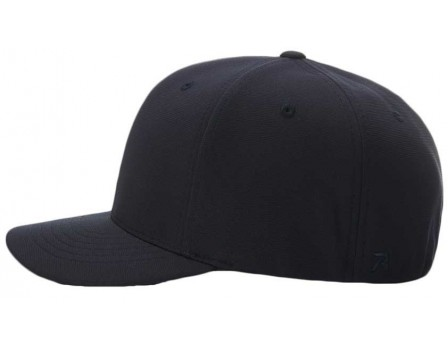 643 Richardson Pulse Performance Flexfit Base Umpire Cap - 6 Stitch Side View