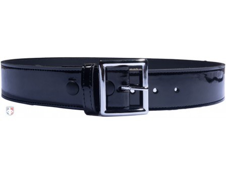 "6505 1 3/4"" Hi-Gloss (Patent) Leather Referee / Umpire Belt"