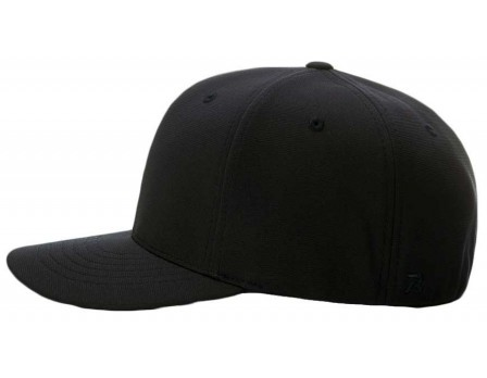 653 Richardson Pulse Performance FlexFit Base Umpire Cap - 8 Stitch Side View