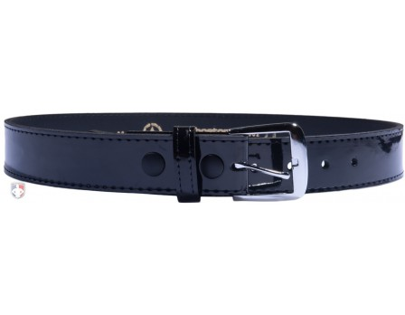 "6582 1 1/2"" Hi-Gloss (Patent) Leather Referee / Umpire Belt"