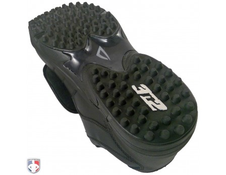 3N2 Mens Umpire Shoe Reaction Pro Plate Lo Black D /& EE Widths