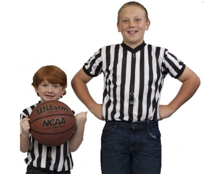 KIDS-BK Children's Basketball Referee Shirt