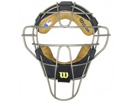 Wilson MLB Titanium Umpire Mask with Two-Tone