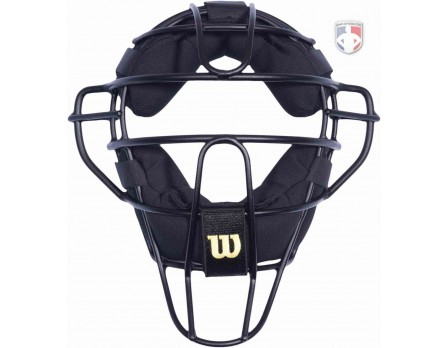 A3009-AL Wilson Dyna-Lite Aluminum Umpire Mask with Memory Foam Front View