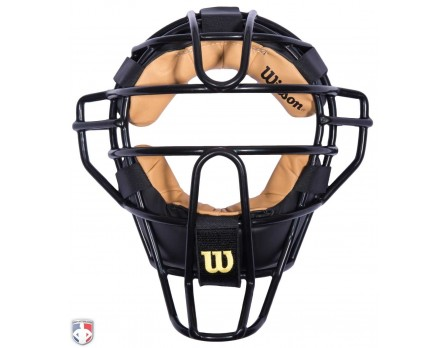 A3009X-Wilson Dyna Lite Steel Umpire Mask With Two Tone