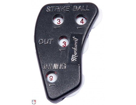 UC5-BC All Star 4-Digital Die Cast Metal Umpire Indicator 3/2/2 Count