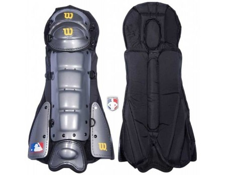 A3417-CHA Wilson MLB Platinum Umpire Shin Guards