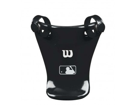 "A3902-BK Wilson MLB 4"" Umpire Throat Guard"