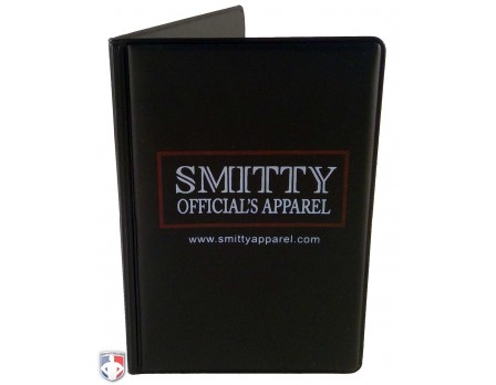 """Book"" Style 5"" Umpire Lineup Card Holder / Game Card Referee Wallet"