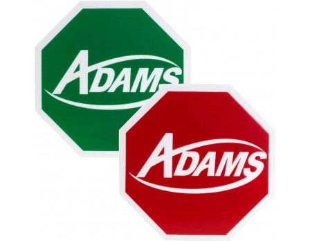 ADMWR200 Adams Wrestling Flip Disc - Red & Green