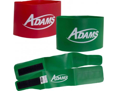 Adams Wrestling Tournament Ankle Bands - Red & Green