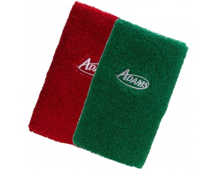 "Adams 5"" Wrestling Referee Red & Green Wristbands"
