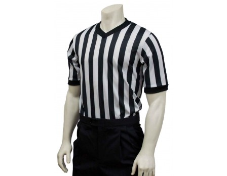 BK-200 Smitty Performance Mesh V-Neck Referee Shirt Front View