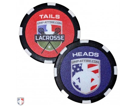 CHIP-LAX Lacrosse Referee Flip Coin Default