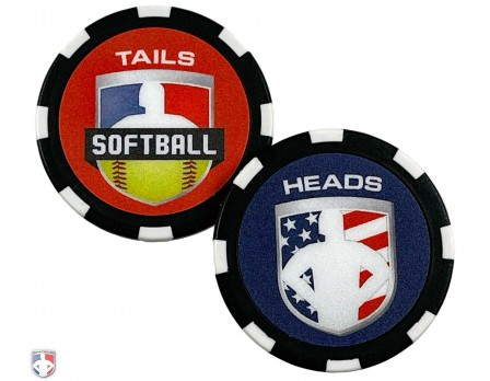 Softball Umpire Flip Coin