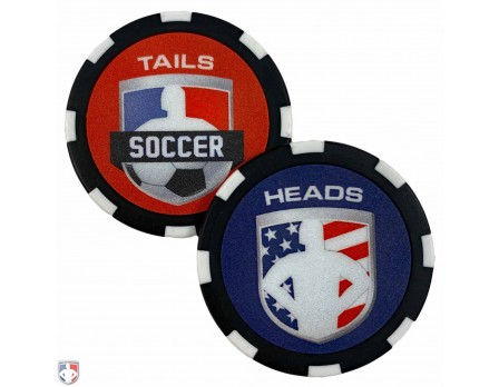 CHIP-SOC Soccer Referee Flip Coin Default